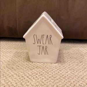 Rae Dunn SWEAR JAR Bank